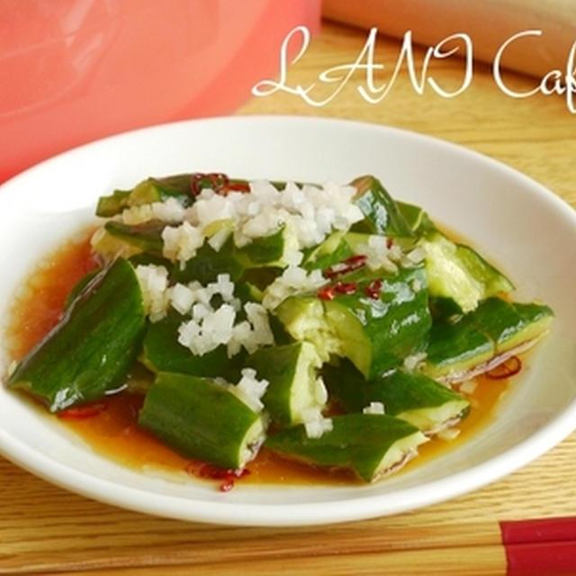 胡瓜の前菜