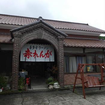 福島・喜多方の「赤れんが」で朝ラーメン