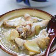圧力鍋で鶏手羽元のサムゲタン(参鶏湯)