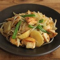 簡単・節約♪鶏むね肉と野菜の焼肉炒め