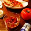 にんにく入りごま油香るさっぱり花椒トマトポン酢タレ