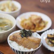 丼で簡単〜魚レシピ♡アジのわさび照り焼き丼♡