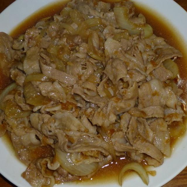 豚のニンニク焼き炒め