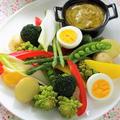 おいしい温野菜でバーニャカウダ ~水で変わる、毎日の料理~