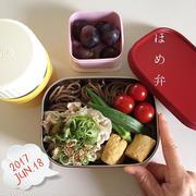 6/18~6/24までのおべんと日記まとめ☆今週は冷たい麺弁当多し~JKの辛口コメント付き~