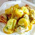 【連載】男子の胃袋も大満足♡『チキンとポテトの味噌チーズ焼き』