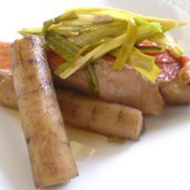 和食の定番!金目鯛とごぼうの煮付け~疲労回復・便秘解消~【健康レシピ】