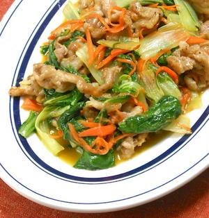 パパっと炒めて簡単ボリュームおかず!スパイシーで旨いシンプル肉野菜炒め。