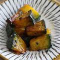 ほっくりおいしい子供も大好き!カボチャの大学芋風レシピ
