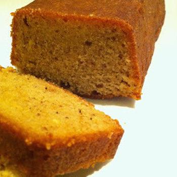 Cake au praline citron レモンとプラリネのパウンドケーキ