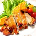 鶏の照り焼き*オレンジソース by mariaさん