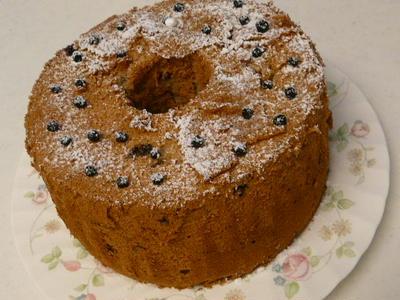 ベリーベリーシフォンケーキ
