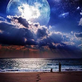 2019年獅子座満月(皆既月食)のメッセージ