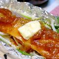 今日の晩ご飯/オーブントースターで簡単調理 「鮭ともやしのホイル焼き」と、「大豆の和風煮」 by Y&Kさん