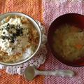 高級な味「塩麹とうふ丼」5分下さい!