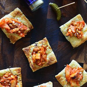 自宅で簡単!パリパリ食感が魅力の「油揚げピザ」!