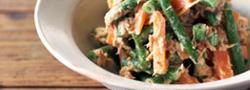 彩りと栄養をプラス♪お弁当にぴったりな「いんげん」のおかずレシピ