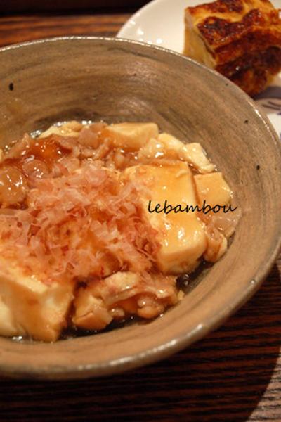 困ったときのお助けメニュー 豆腐のとろとろ煮