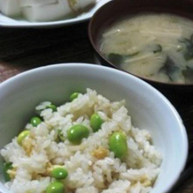 新生姜の炊きこみご飯