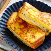 ハムチーズサンドをフレンチトーストみたいに焼いてみた。「ふわもちモンティクリスト」