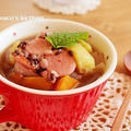 美味しいお水で雑穀スープ