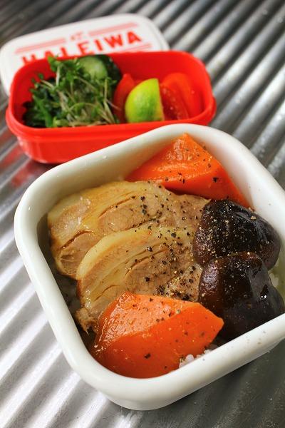 煮豚べんとう・野菜BOX・・・おっと弁