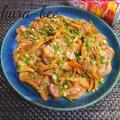 【秋レシピ】ご飯が進む♪豚ヒレ肉と舞茸の味噌バタぽん炒め
