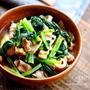 ♡じゅわっと染みうま♡豚肉と小松菜の和風煮♡【#油揚げ#簡単#時短#節約】
