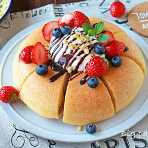 スイッチひとつで極厚!ぱおさんの「炊飯器パンケーキ」アイデア