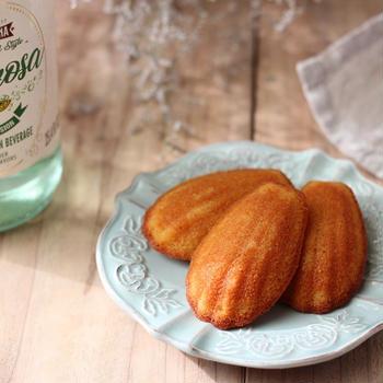 今日のおやつ 『玄米粉で作るしっとりマドレーヌ』