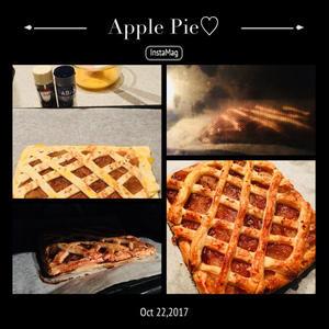 冷凍パイシートで簡単アップルパイ♪