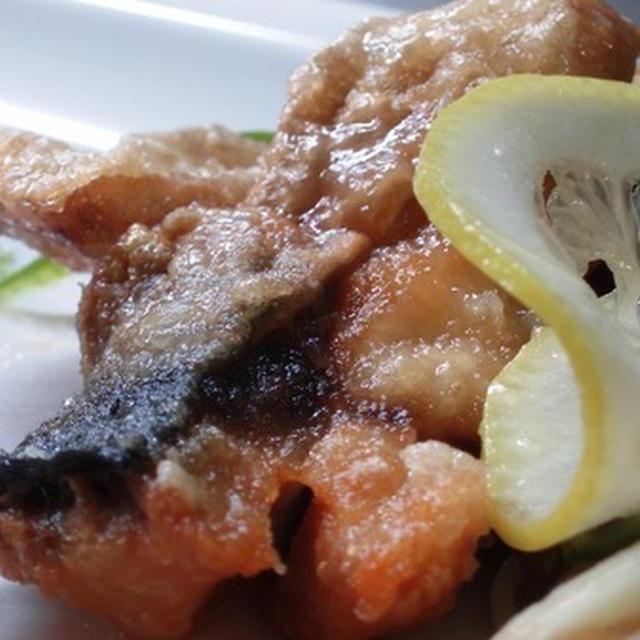 手製の塩鯖と和風レモンマリネのレシピ