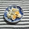 ゴーヤと卵の、マヨネーズ和え