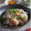 塩麹漬け海鮮丼~☆