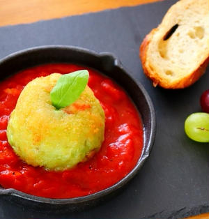 【動画】アボカドコロッケ トマトソースのレシピ – おうちカフェメニュー