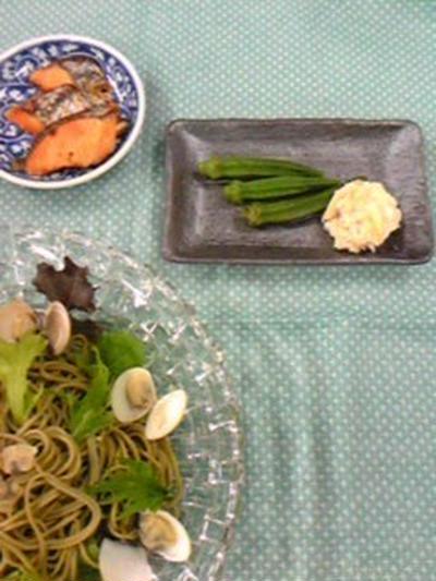 今年の夏を楽しむ硝子・デビューの夜食(笑)