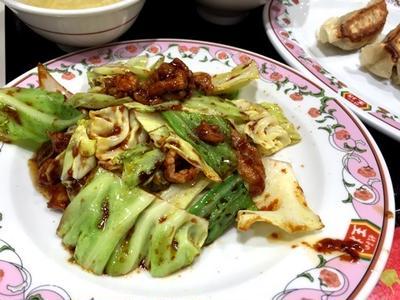 めちゃウマ回鍋肉、餃子、レバニラかに玉を新しくできた王将で@中華、御徒町