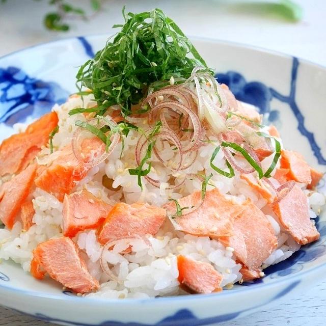焼きサケのちらし寿司