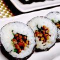 【レシピ】基本の! 納豆巻(^^♪ 良質タンパク質減でミネラルも豊富!