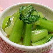 炒め物だけじゃない!チンゲン菜で作るお手軽和え物レシピ