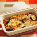 お野菜たっぷり♪ 鶏のボロネーゼグラタン
