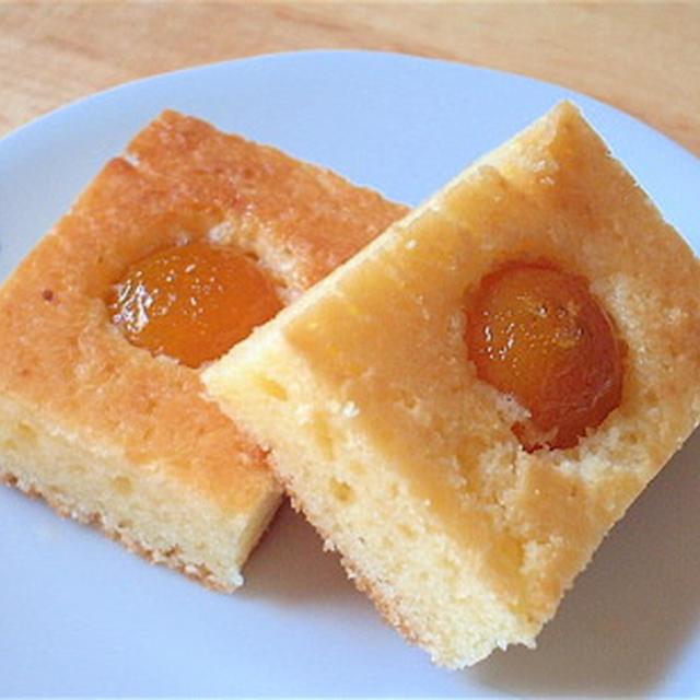 キンカン天板ケーキ Kumquat cake on the baking sheet