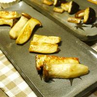 いわきエリンギ(いわきゴールドしいたけ)のシンプル塩のみdeEXオリーブオイルソテー きのこ料理 -Recipe No.1440-