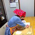 [開催報告]堺市南区@春の香りがいっぱい!いちごメロンパン親子自宅レッスン