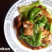【簡単カフェごはん】美味!レタスと豚肉のオイスターソース炒め*のち丼