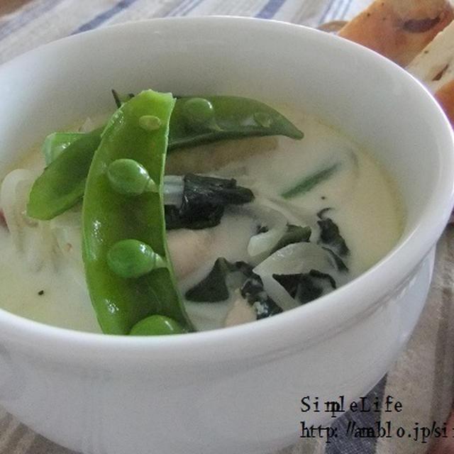 栄養タップリ!しょうがの効いたミルクスープ