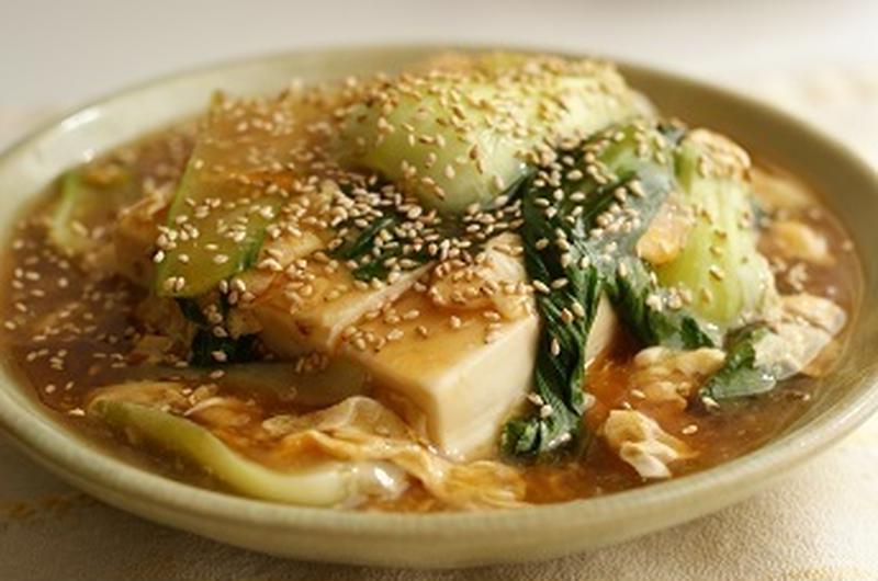 身も心もあったまろ♪ほっこり「あんかけ豆腐」レシピ5選