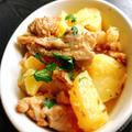 鶏肉とじゃがいもの炒め煮〜クミン風味