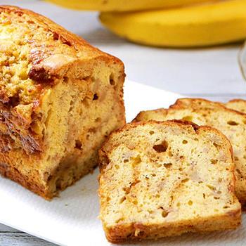 キャラメルバナナパウンドケーキの作り方