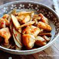♡ごはんがすすむ♡鶏肉とごぼうの味噌炒め♡【#鶏むね肉#鶏もも肉#簡単#お弁当】